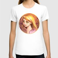 rapunzel T-shirts featuring Rapunzel by Vincent Vernacatola