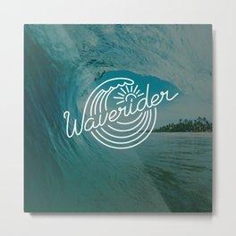 Waverider Rush Metal Print
