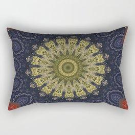 Better than Yours Colormix Mandala 9 Rectangular Pillow