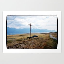 For Sale By The Side of the Road Art Print