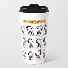 The Twelve Dogtors Travel Mug