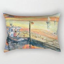 A Delightful Evening Rectangular Pillow