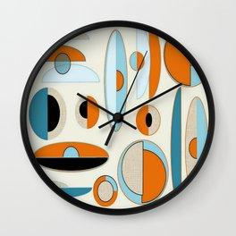 Mid-Century Art 2.4 Wall Clock