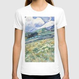 """Vincent van Gogh """"Mountainous Landscape behind Saint-Paul Hospital"""" T-shirt"""