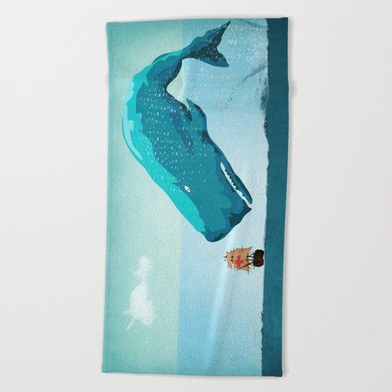 Whale Beach Towel