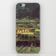 Beach in Amalfi, Italy iPhone & iPod Skin