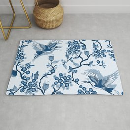 Classi Blue Chinoiserie Rug