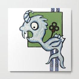 Kraken's Cousin Metal Print
