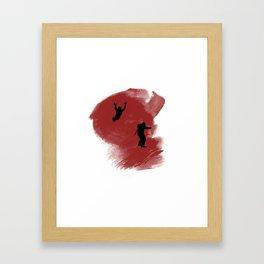 Hunter! Framed Art Print