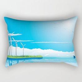 Wind Farm Rectangular Pillow