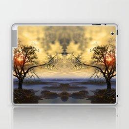 Tree in November sun Laptop & iPad Skin