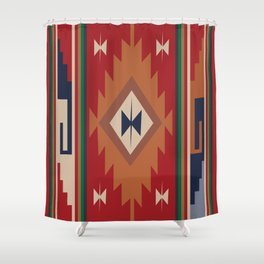 American Native Pattern No. 19 Shower Curtain