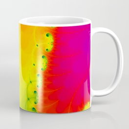 Abstract art fractal art Psychedelic decor poster minimalist Coffee Mug