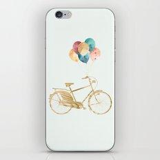 Bicycle & Balloons iPhone & iPod Skin