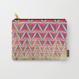 From pink to yellow pattern Carry-All Pouch