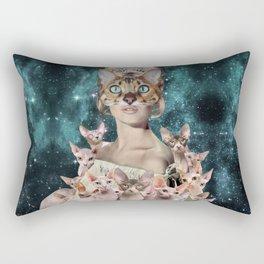 Cat Lady Rectangular Pillow