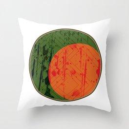 Eclipse Three Throw Pillow