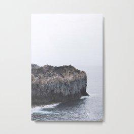 Blue Scape Metal Print