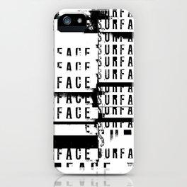 « survie en blanc » iPhone Case