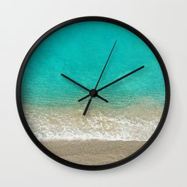 Blue from the Top 4 Wall Clock