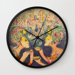 Apocalypse by Technology Wall Clock