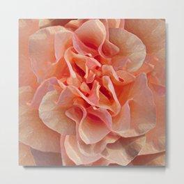 Expressionistic Rose Metal Print