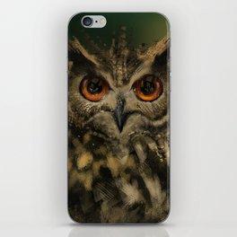 Bird Of the Night iPhone Skin