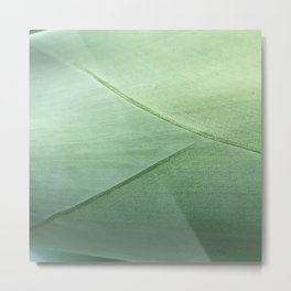 Agave Leaf Metal Print
