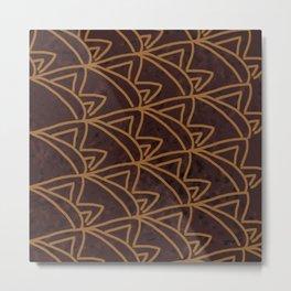bbb patterns Metal Print