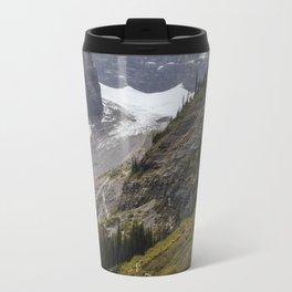 Trail to the Plain of Six Glaciers Teahouse Travel Mug
