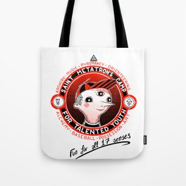 Saint Metatron's Camp for Talented Youth Tote Bag