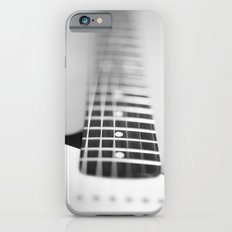 Guitar macro monochrome iPhone 6s Slim Case
