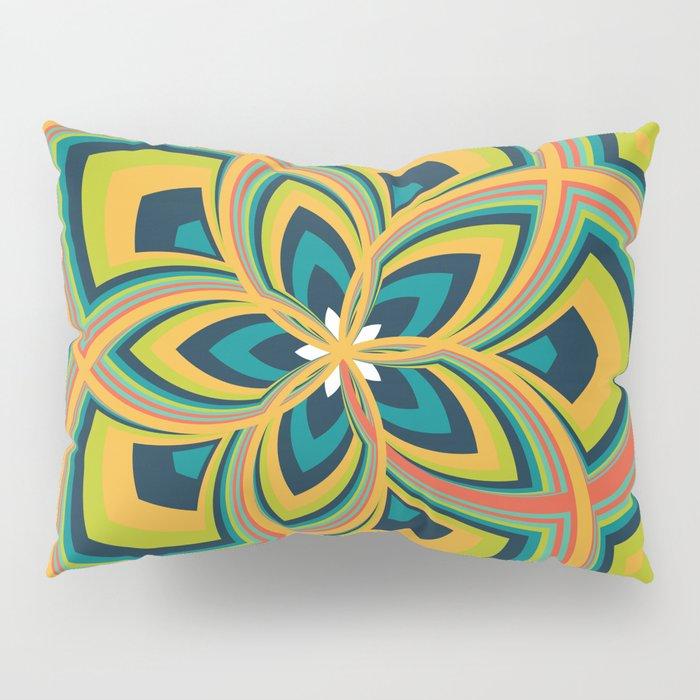 Spiral Rose Pattern C 4/4 Pillow Sham