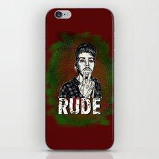Rude iPhone & iPod Skin