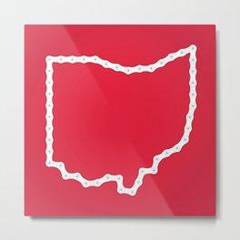 Ohio: United Chains of America Metal Print