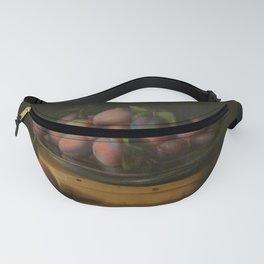 Louise Moillon - Plat de prunes sur boite a copeaux Fanny Pack