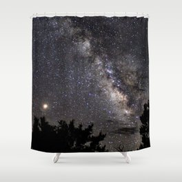 Mars, the Bringer of War Shower Curtain