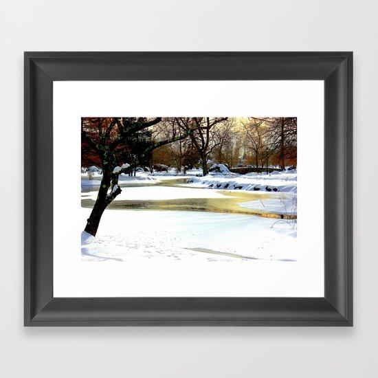 Golden Pond Framed Art Print