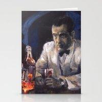 casablanca Stationery Cards featuring Casablanca by Miquel Cazanya