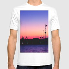 Subic Bay Mens Fitted Tee White MEDIUM