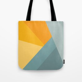 Abstract Mountain Sunrise Tote Bag