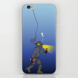 Deep love iPhone Skin