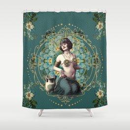 Marie-Louise-Louise Shower Curtain