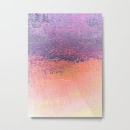 Playing With Pink And Purple Clouds Metal Print
