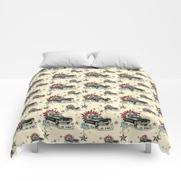 The Road So Far Vintage Comforters