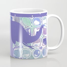 Abstract Purple Elephant Coffee Mug