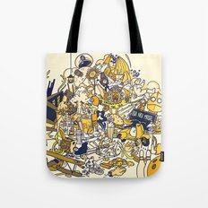 Movies Explosion Tote Bag