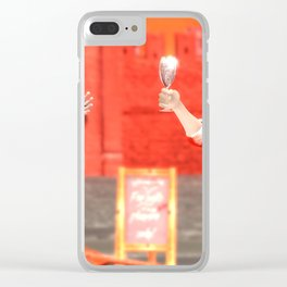 SquaRed: Give it to me Clear iPhone Case