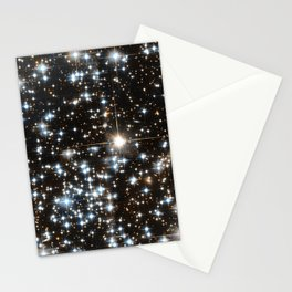 Sparkle Star Field in the Universe Stationery Cards
