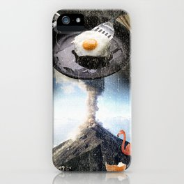 Breakfast is essential iPhone Case